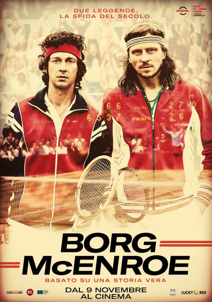 Borg McEnroe Alternative Poster